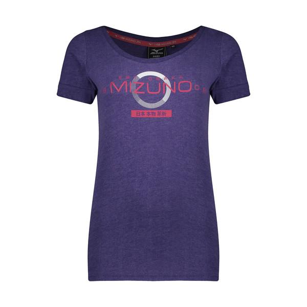 تی شرت آستین کوتاه ورزشی زنانه میزانو مدل HA74