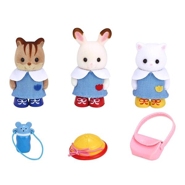 اسباب بازی سیلوانیان فامیلیز مدل عروسک های مهد کودک کد 5262 مجموعه 6 عددی