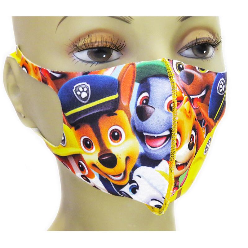 ماسک تزیینی بچگانه مدل سگ نگهبان کد 33
