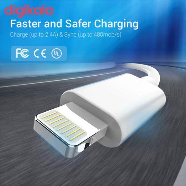 کابل تبدیل USB به لایتنینگ  مدل btrbuy+ طول 1متر main 1 5