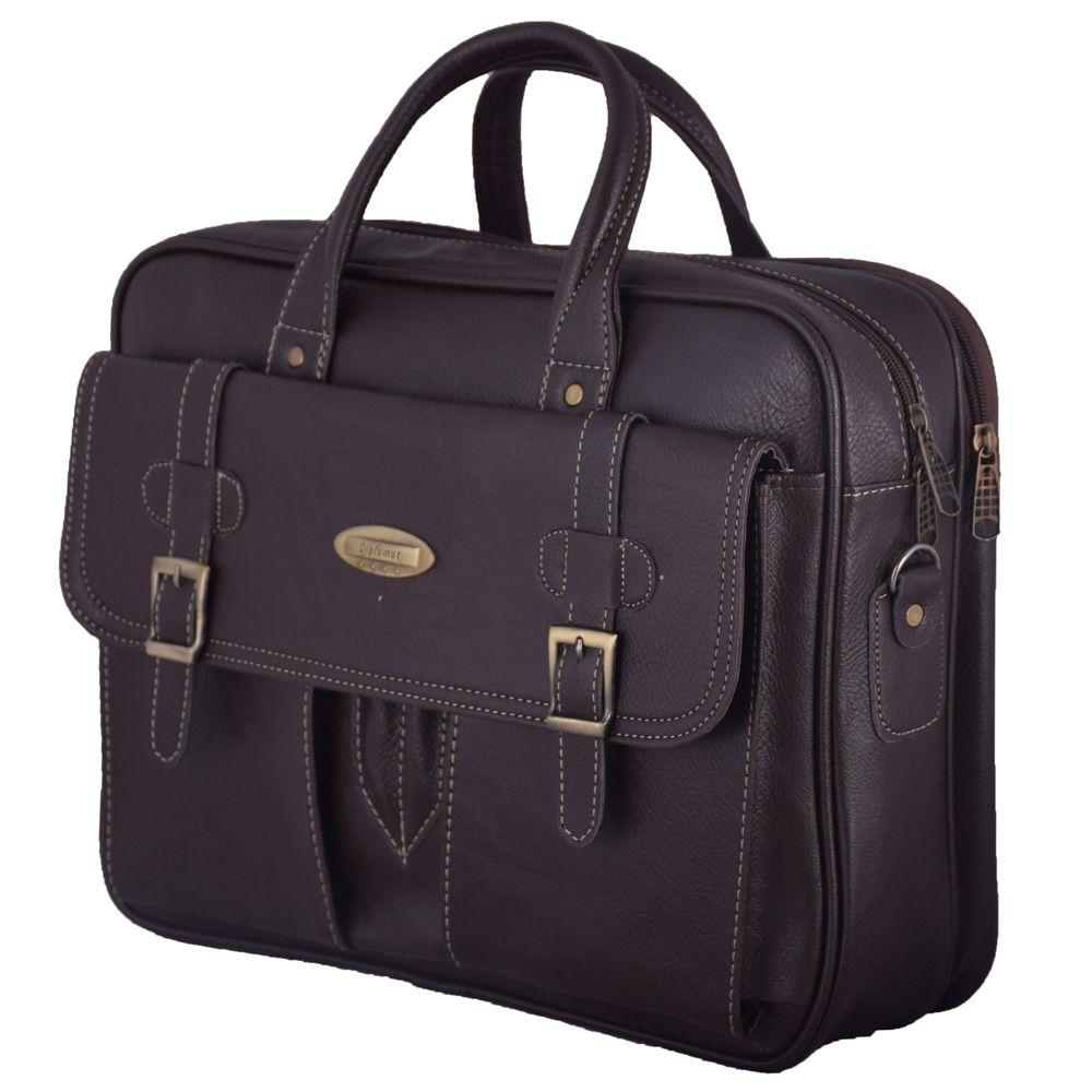 کیف اداری مردانه چرم ما مدل SM-1 -  - 8