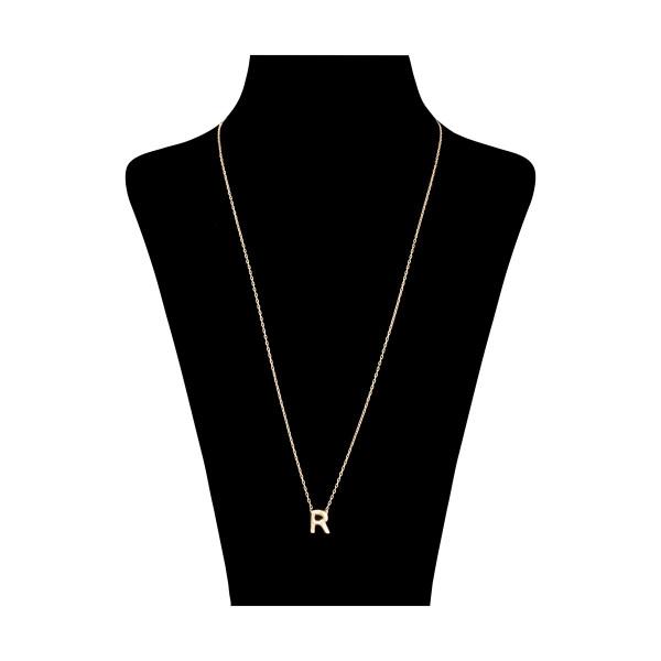 گردنبند طلا 18 عیار زنانه مدیسا مدل N7001