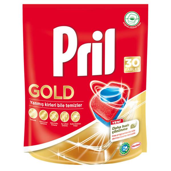 قرص ماشین ظرفشویی پریل مدل Royal بسته 30 عددی