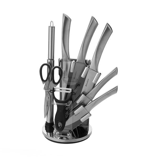 سرویس چاقو آشپزخانه 9 پارچه دونالکس مدل DN-551