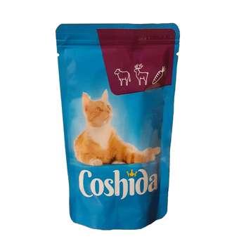 غذای پوچ گربه کوشیدا مدل kalf & wild وزن 100 گرم