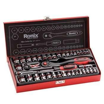 مجموعه 40 عددی آچار بکس رونیکس مدل RH-2640