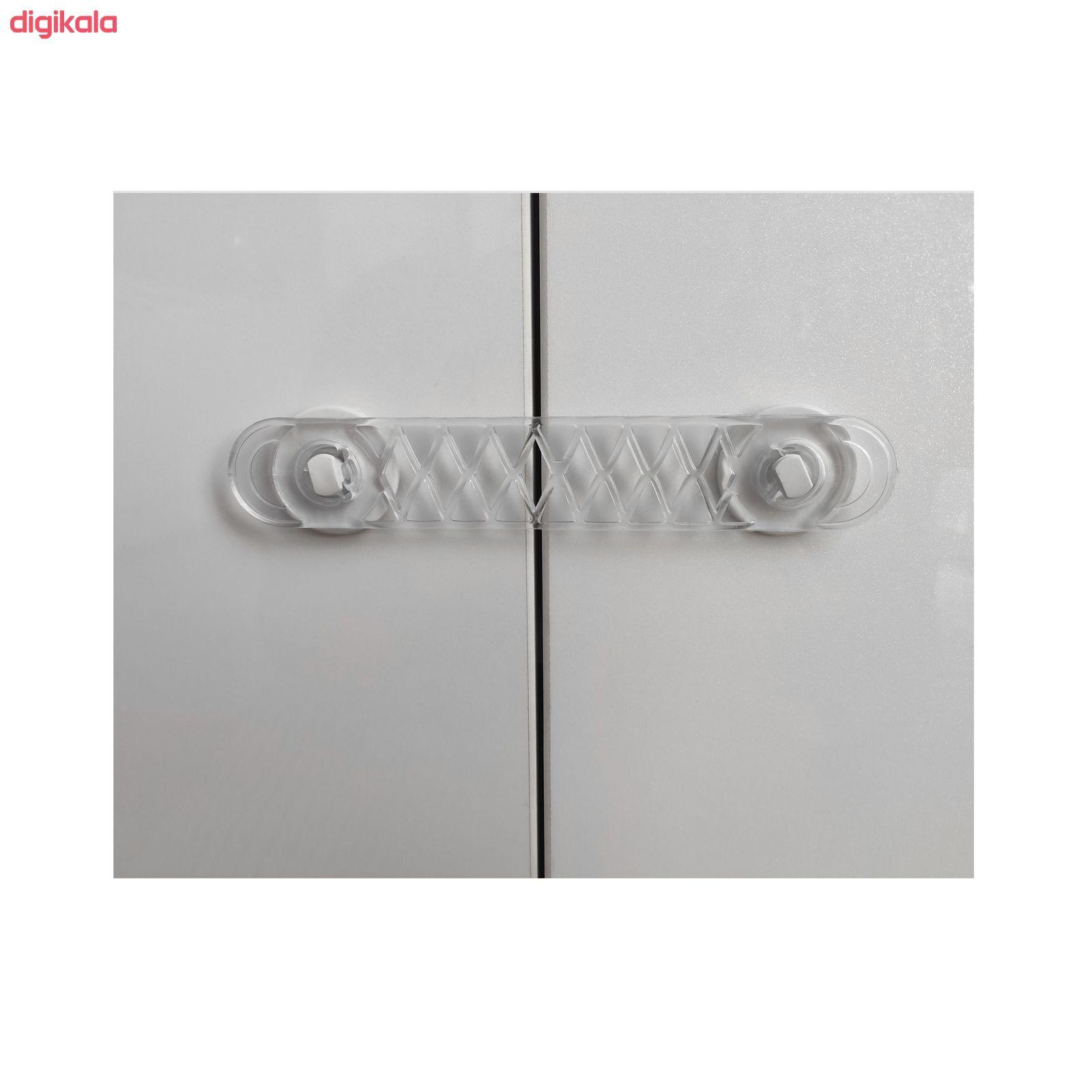 قفل درب کمد و کابینت کد SHR بسته 4 عددی main 1 2
