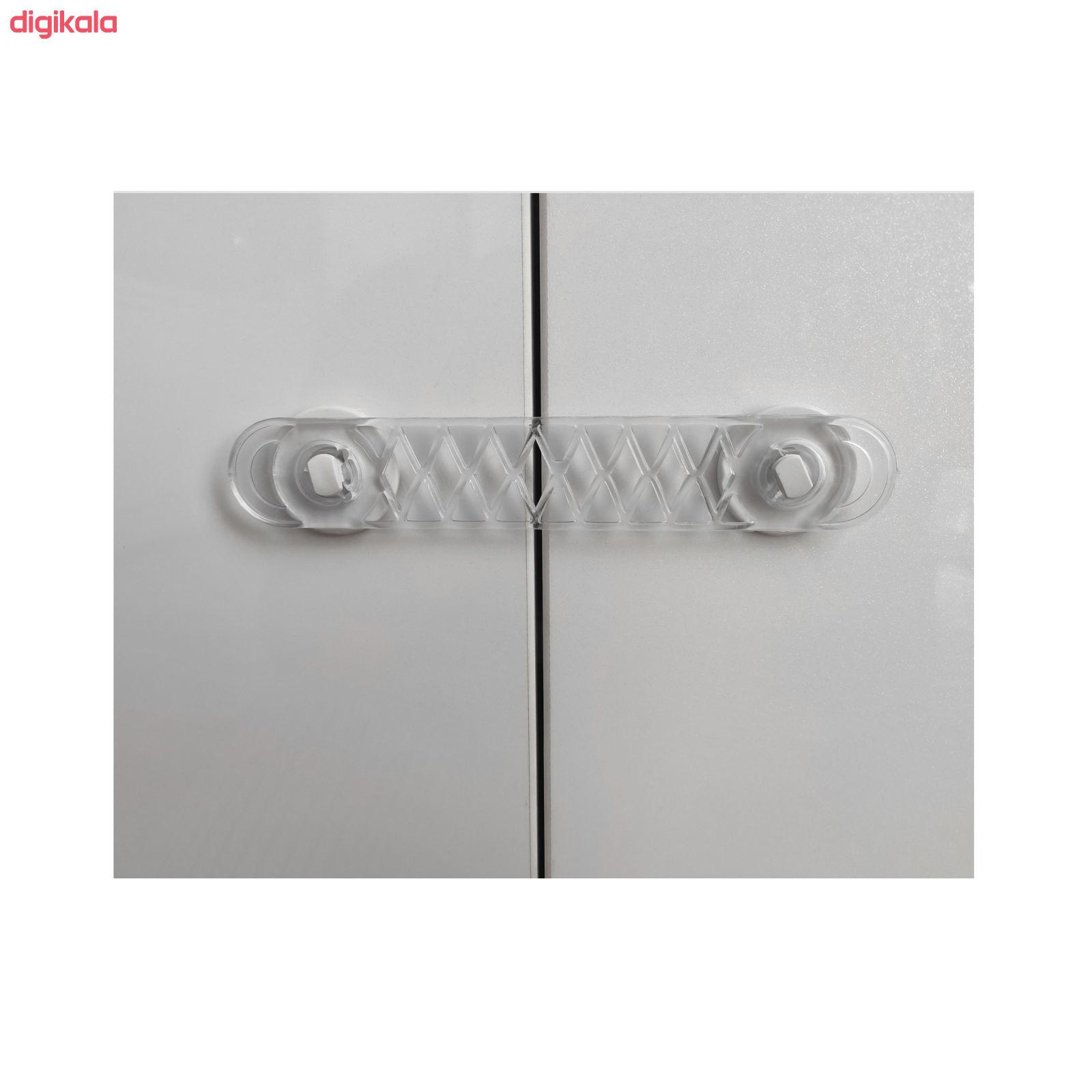 قفل درب کمد و کابینت کد SHR بسته 10 عددی main 1 2