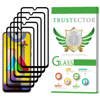 محافظ صفحه نمایش سرامیکی تراستکتور مدل CRM مناسب برای گوشی موبایل سامسونگ Galaxy M31 بسته 5 عددی