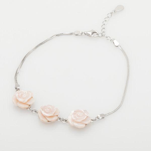 دستبند نقره زنانه مدل HA07