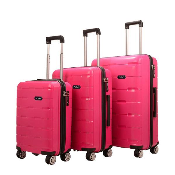 مجموعه سه عددی چمدان الکسا مدل ALX880 Resistant