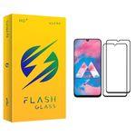 محافظ صفحه نمایش فلش مدل +HD مناسب برای گوشی موبایل سامسونگ Galaxy M30 بسته دو عددی