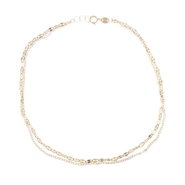پابند طلا 18 عیار زنانه مایا ماهک مدل MA0150