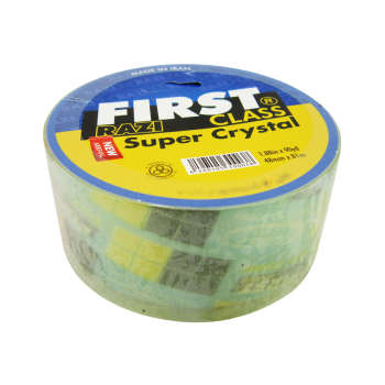 نوار چسب رازی مدل first super crystal-43m عرض 48 میلی متر