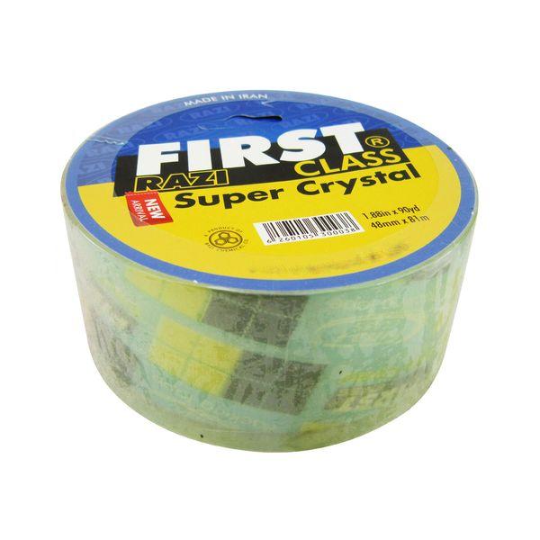 نوار چسب رازیمدل first super crystal-43m عرض 48 میلی متر
