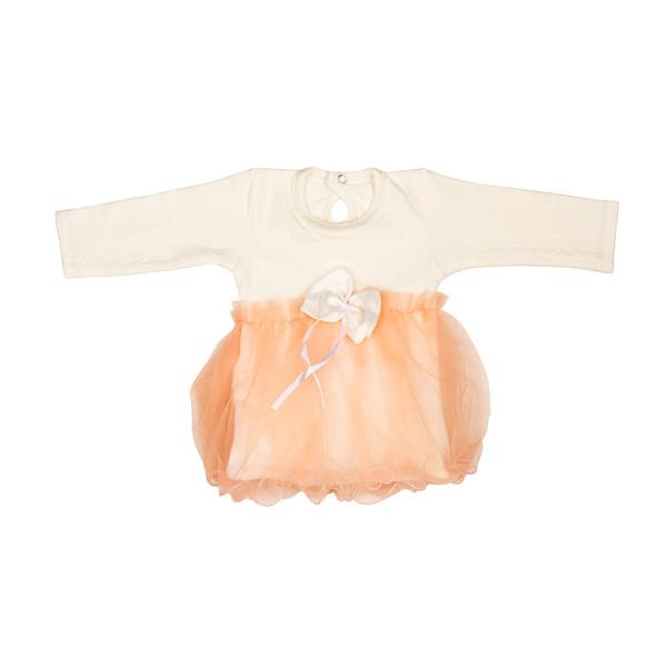 پیراهن نوزادی تربچه مدل سفید برفی