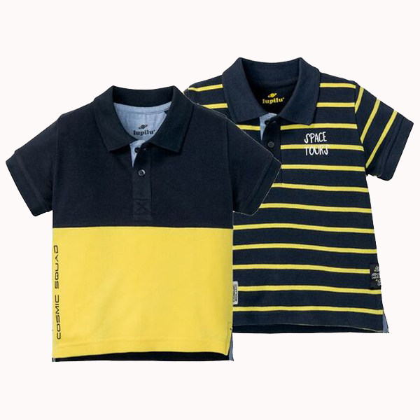تی شرت پسرانه لوپیلو مدل IAN-317830 مجموعه 2 عددی