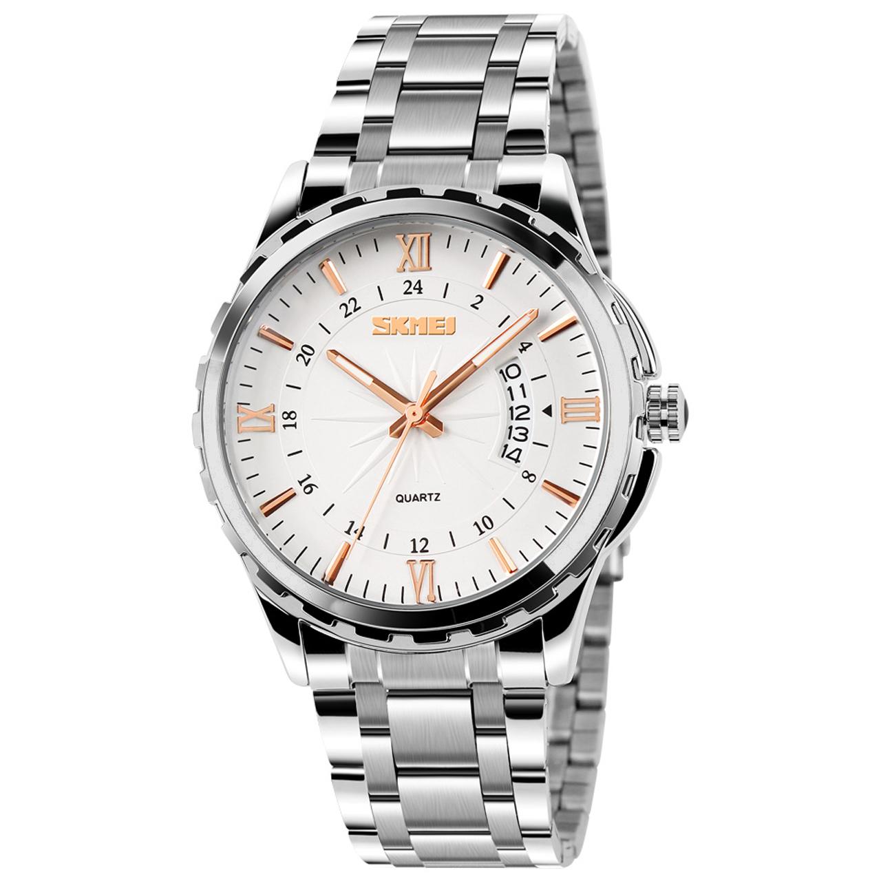 ساعت مچی عقربه ای مردانه اسکمی مدل 9069W-NP              ارزان