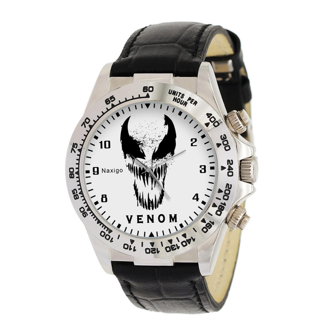 ساعت مچی  مردانه ناکسیگو طرح ونوم کد LS3566