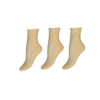 جوراب زنانه مدل SO805 بسته 3 عددی