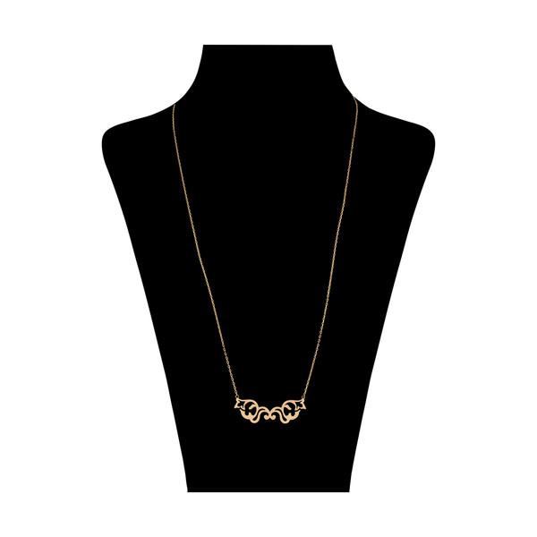 گردنبند طلا 18 عیار زنانه نیوانی مدل N1002