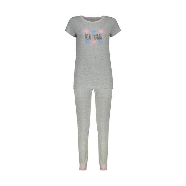 ست تی شرت و شلوار زنانه ناربن مدل 1521363-90