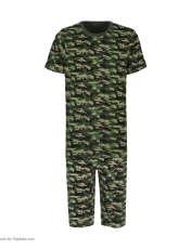 ست تی شرت و شلوارک راحتی مردانه مادر مدل 2041108-49 -  - 2