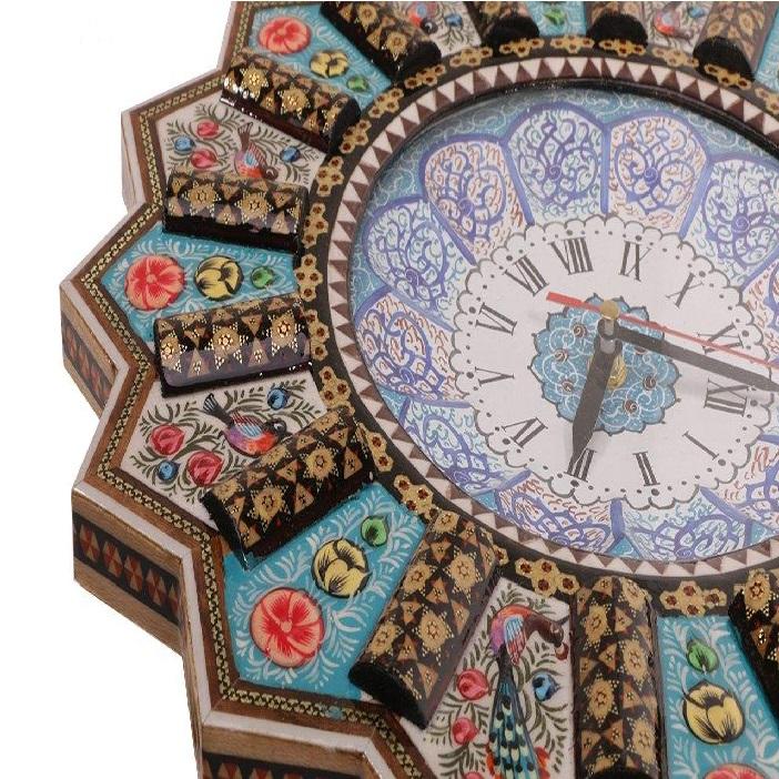 خرید                      ساعت خاتم کاری کد 351