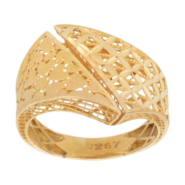انگشتر طلا 18 عیار زنانه مایا ماهک مدل MR0393