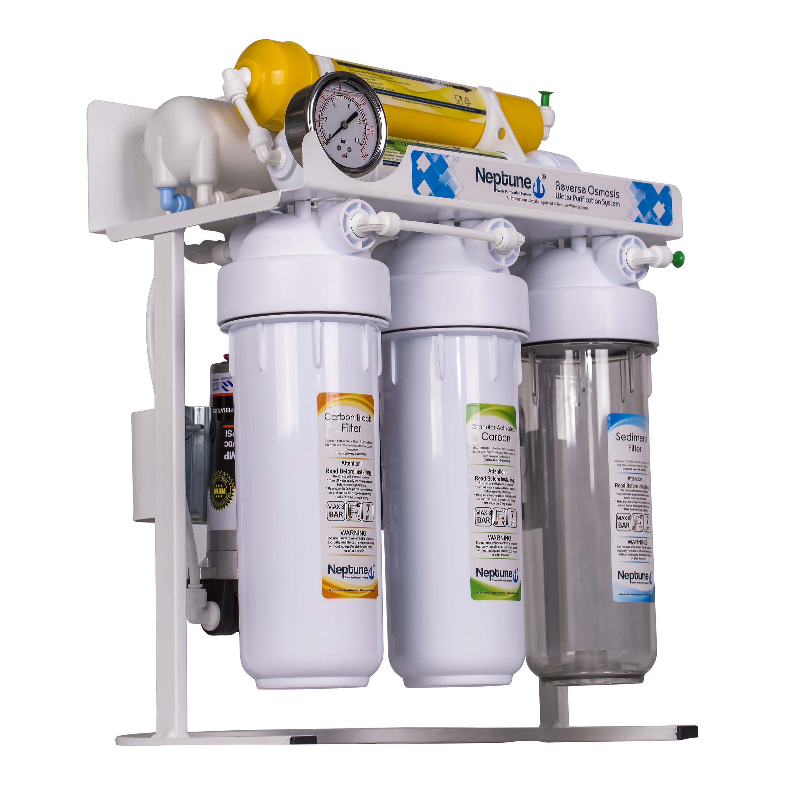 دستگاه تصفیه کننده آب نپتون مدل RO- I