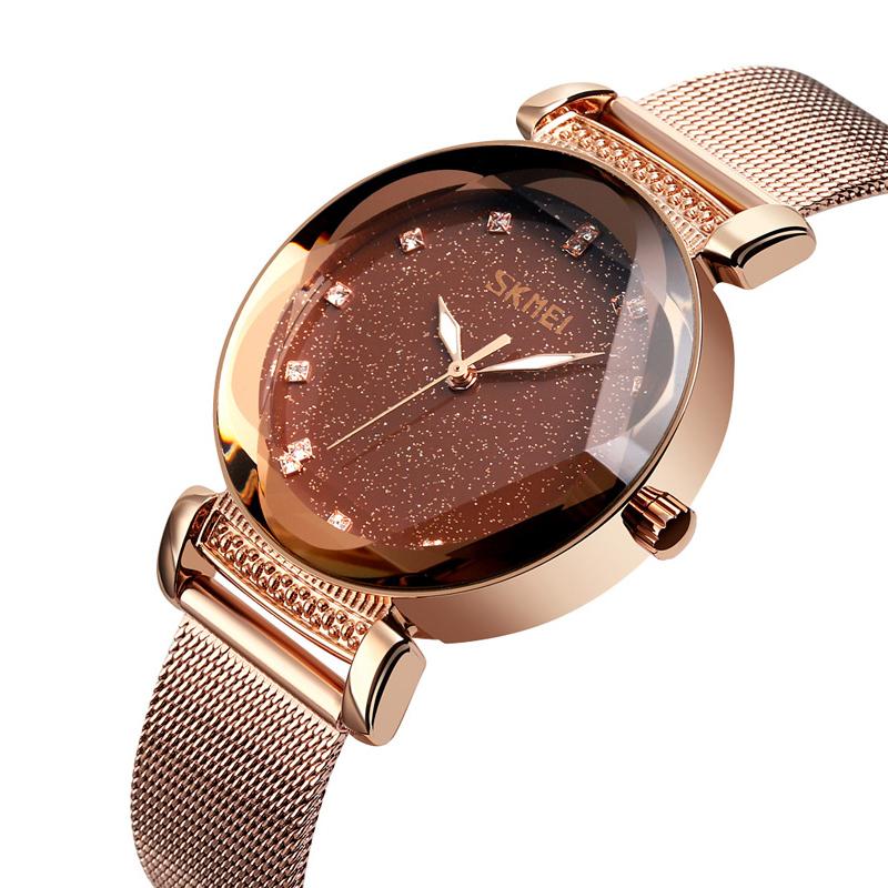 ساعت مچی عقربه ای زنانه اسکمی مدل 9188RG-NP2