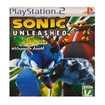 بازی sonic unleashed مخصوص ps2