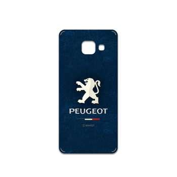 برچسب پوششی ماهوت مدل Peugeot مناسب برای گوشی موبایل سامسونگ Galaxy A3 2016
