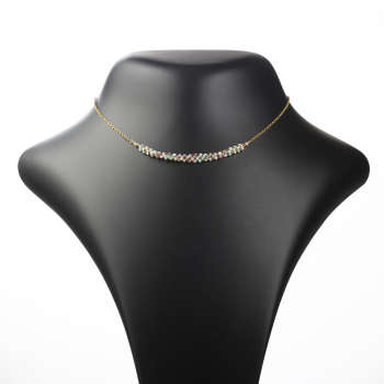 گردنبند طلا 18 عیار زنانه مدل GRR15