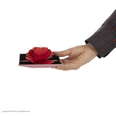 جعبه انگشتر گالری شمرون مدل گل رز کد ACC040R0