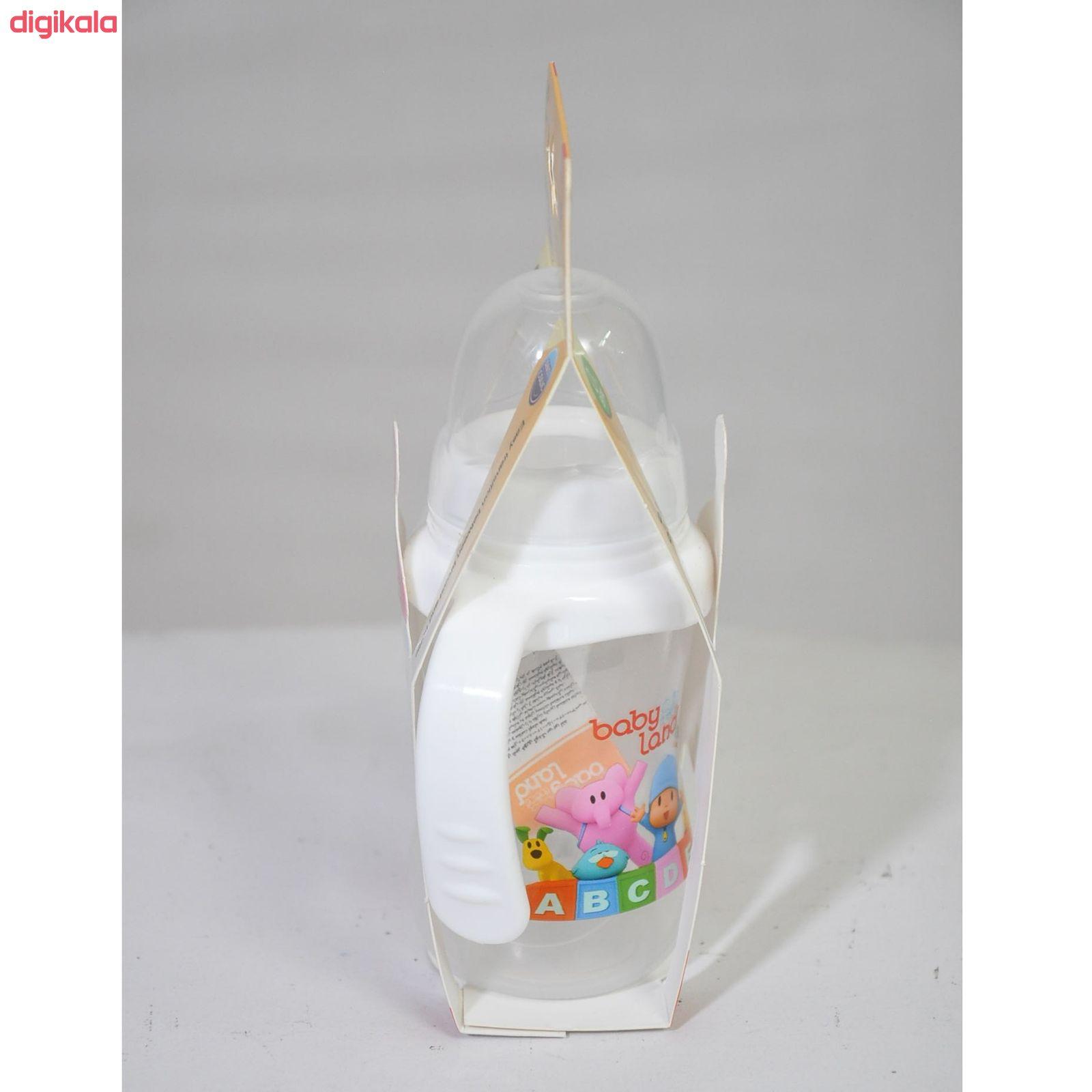شیشه شیر بیبی لند مدل 360 ظرفیت 150 میلی لیتر main 1 2