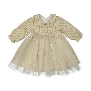 پیراهن نوزادی دخترانه فیورلا کد 20522