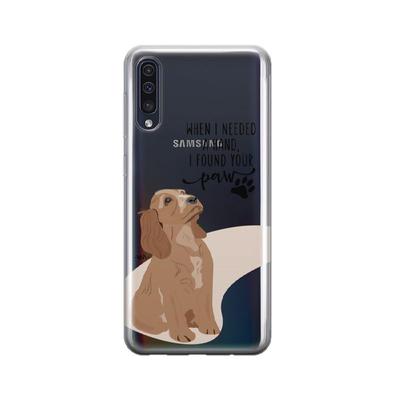 کاور وینا مدل I Found Your Paw مناسب برای گوشی موبایل سامسونگ Galaxy A50