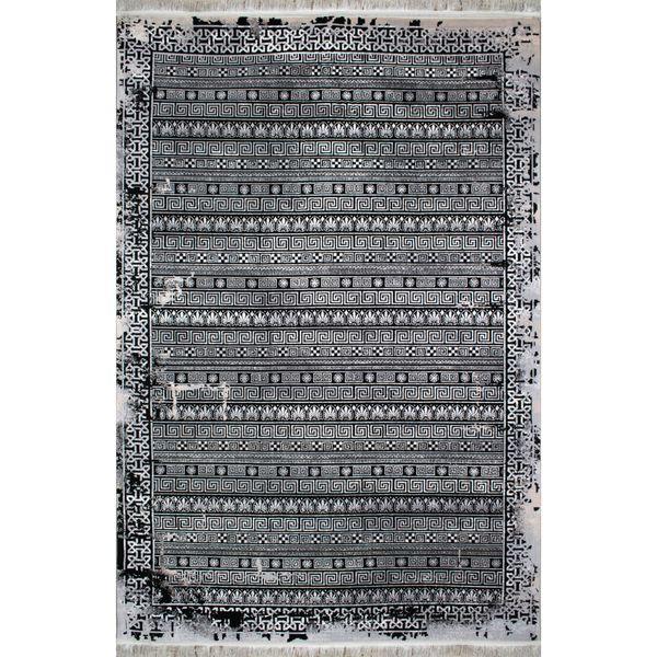 فرش ماشینی افرند طرح پتینه کد 6607