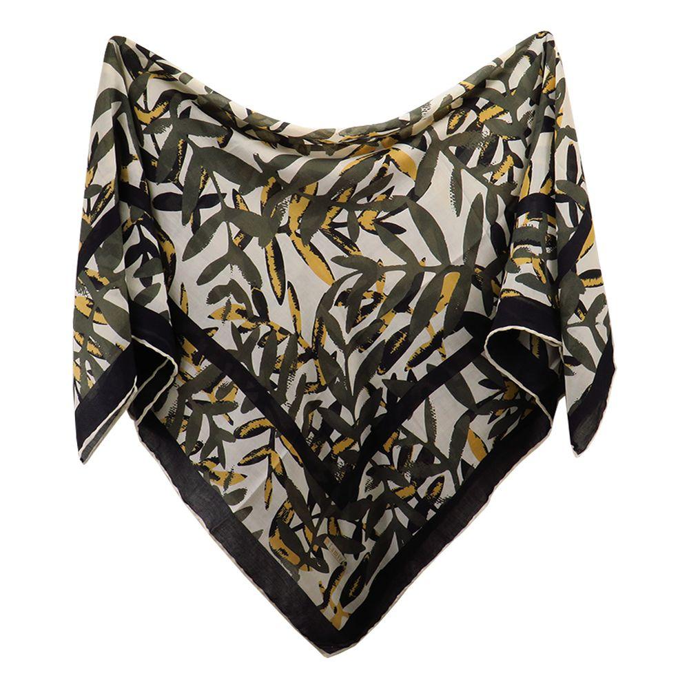 روسری زنانه لمیز مدل برگ
