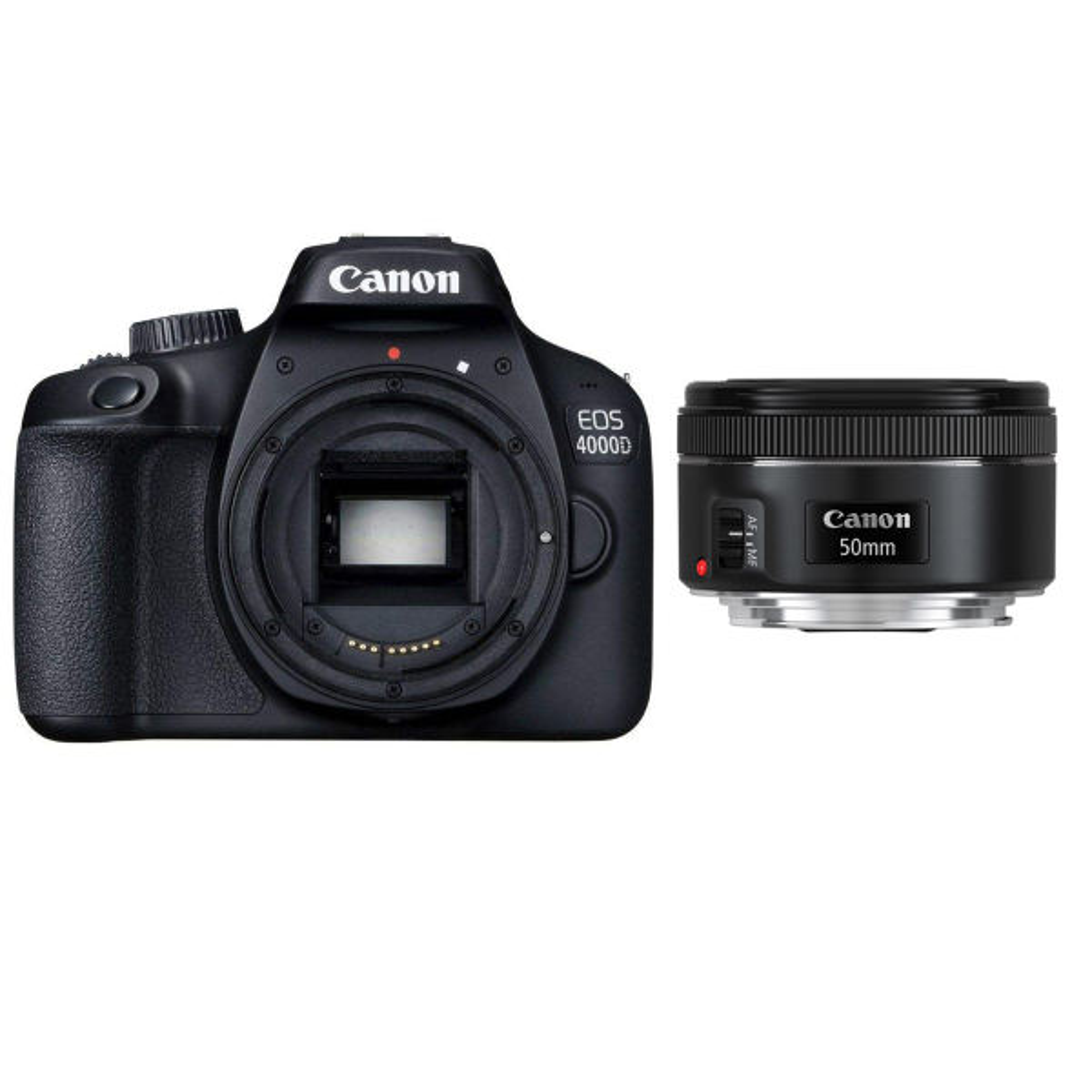 دوربین دیجیتال کانن مدل EOS 4000D به همراه لنز 50 میلی متر STM