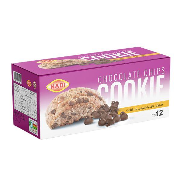 کوکی تای نادی با چیپس شکلات بسته 12 عددی