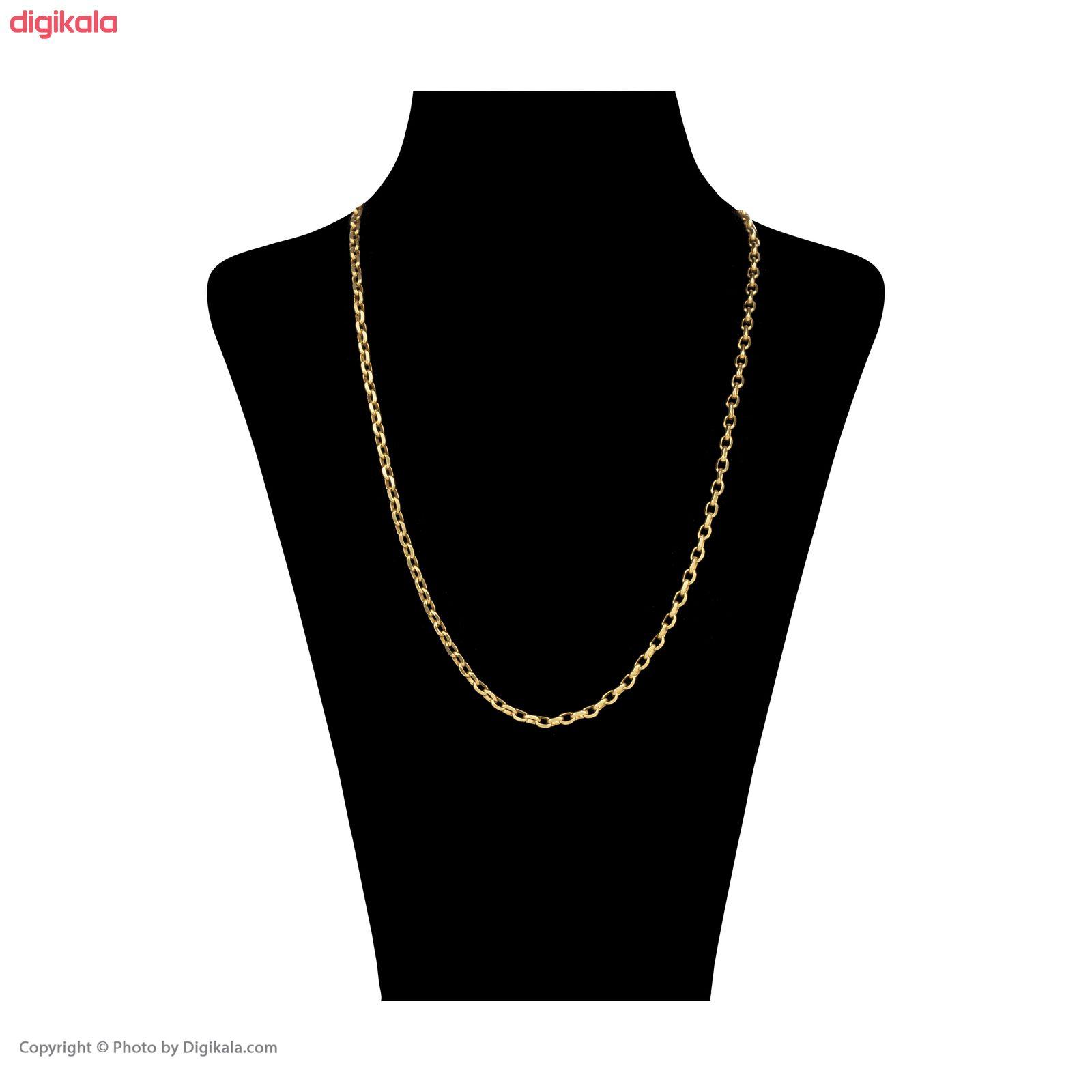 زنجیر طلا 18 عیار زنانه آلند کد TZ28 main 1 2