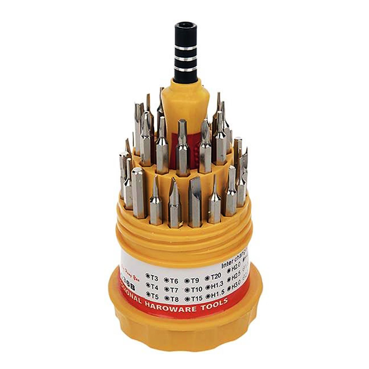 مجموعه 31 عددی سری پیچ گوشتی مدل AT-42