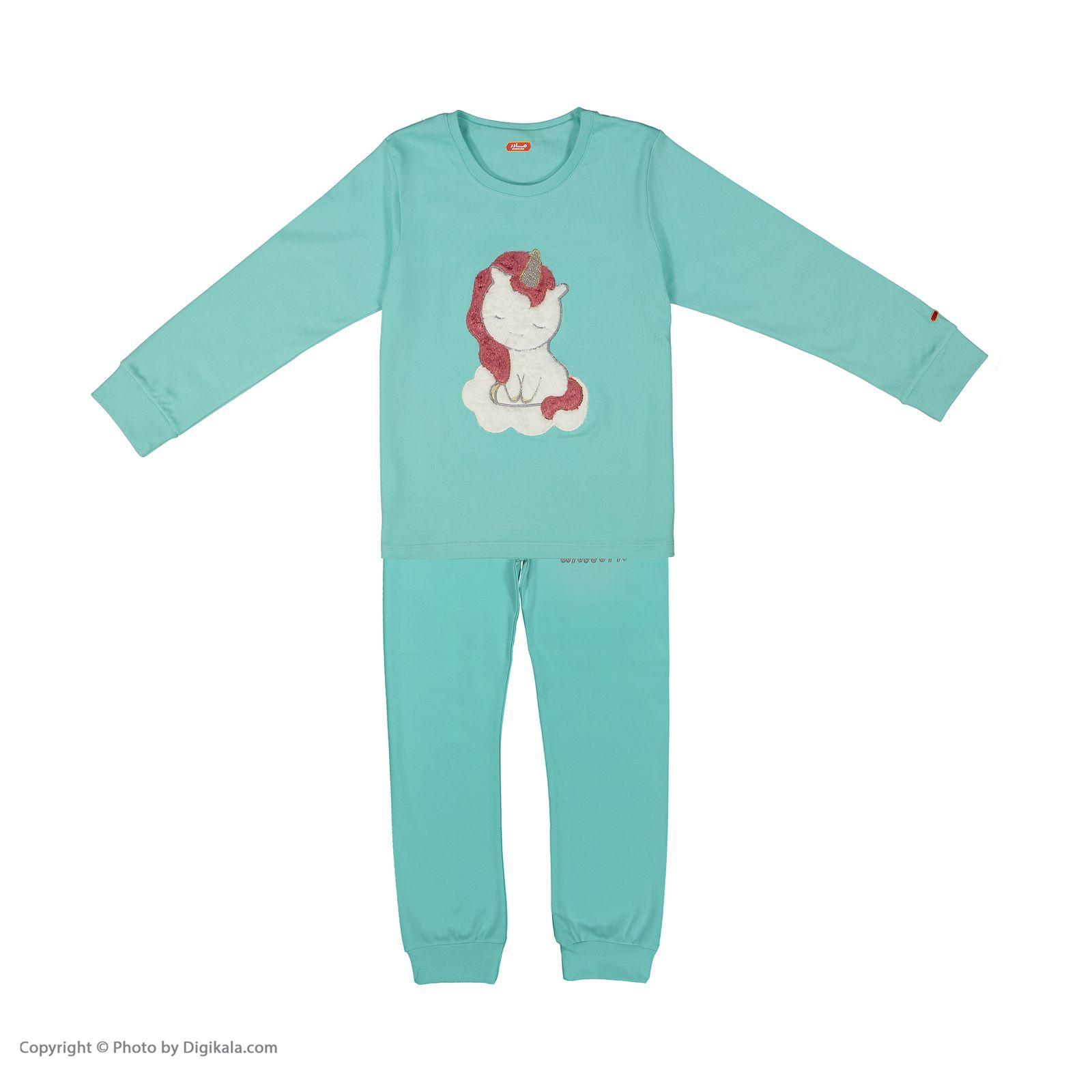 ست تی شرت و شلوار دخترانه مادر مدل 303-54 main 1 1