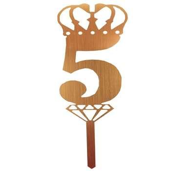 شمع تولد طرح عدد 5