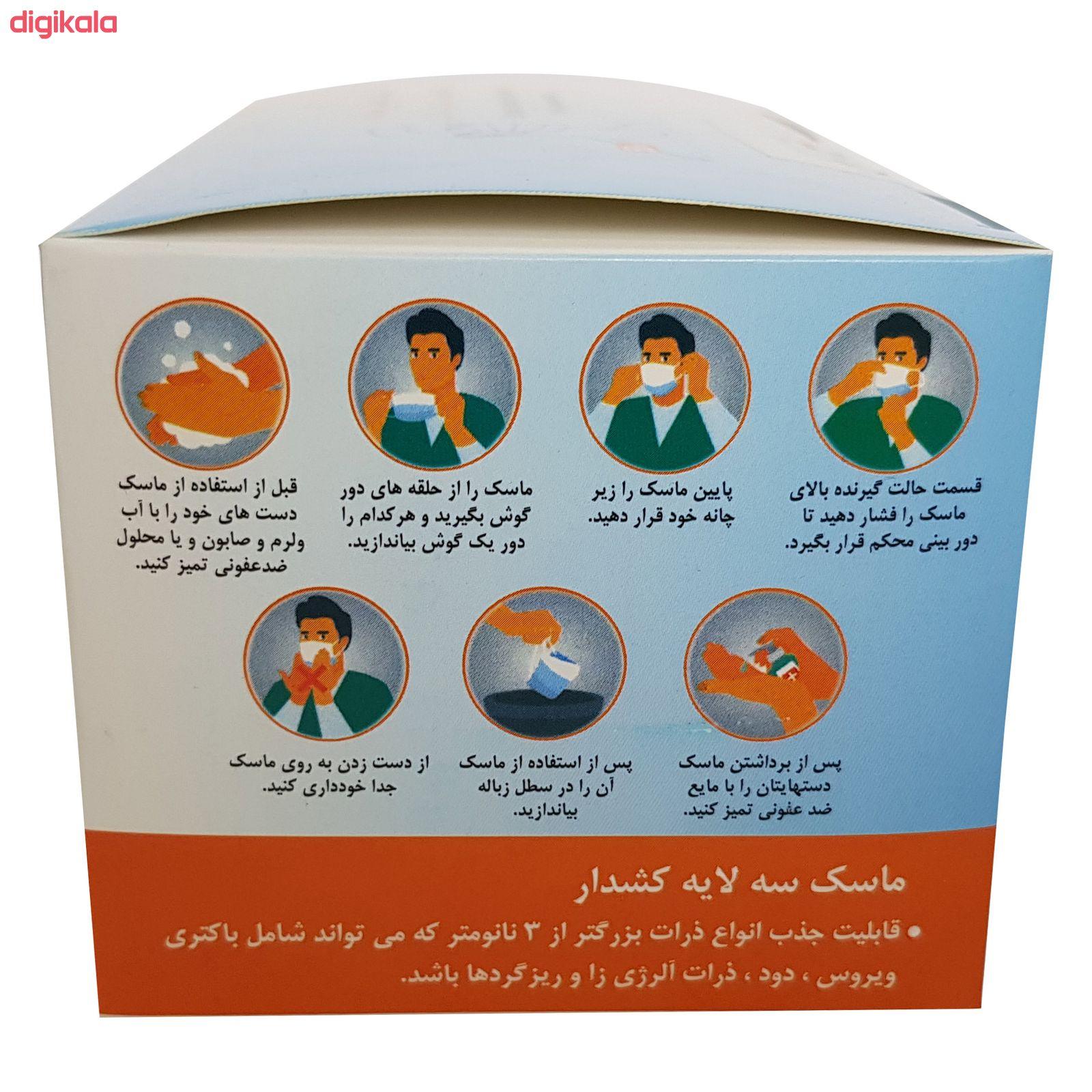 ماسک تنفسی مدل SSMMS بسته 50 عددی main 1 5