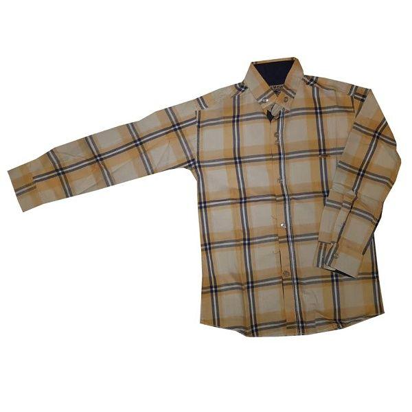 پیراهن آستین بلند پسرانه مدل ELWOOD