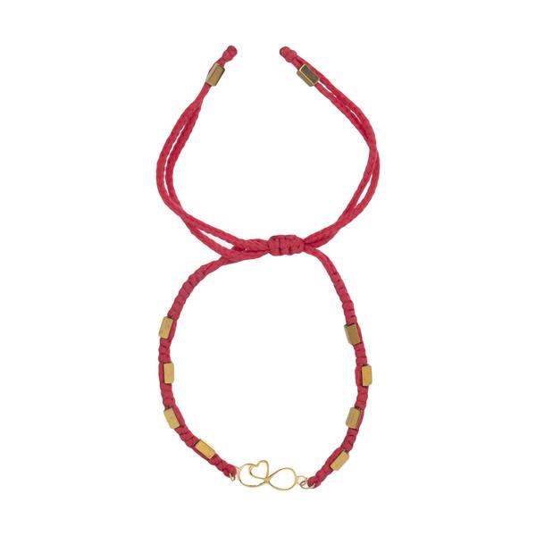 دستبند طلا 18 عیار زنانه نیوانی مدل Ba1033