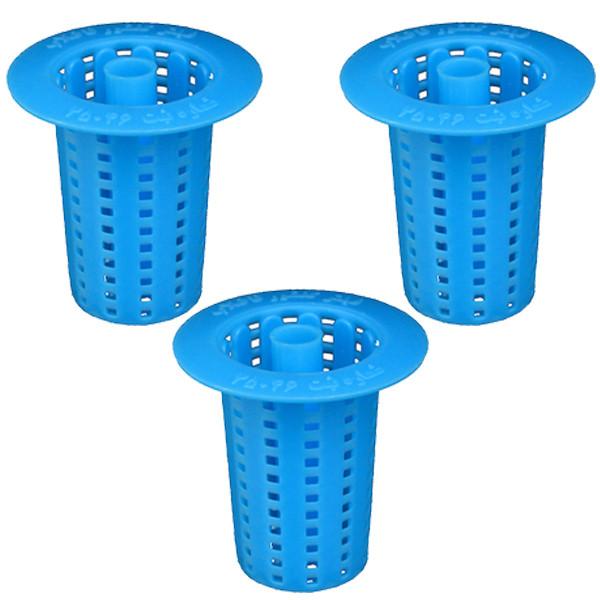 فیلتر کفشور حمام مدل 0902 مجموعه سه عددی